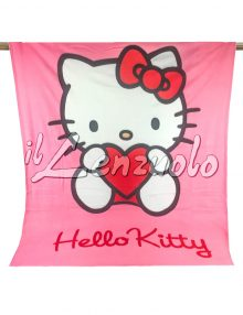 Plaid-coperta-in-pile-Hello-Kitty