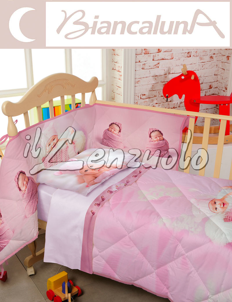 Kandy trapunta invernale letto baby con paracolpi by - Paracolpi per letto singolo ...