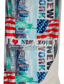 Plaid-Coperta-CITY-con-Sherpa-di-Ambrosiana-new-york