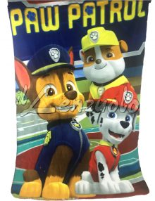 Plaid PAW PATROL in pile cm 100x150.