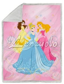 plaid-coperta-disney-princess-farfalle