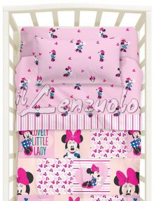 lenzuola-lettino-a-cancelli-disney-minnie-fantasy-caleffi