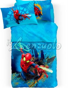 copriletto-trapuntato-spiderman-fluo