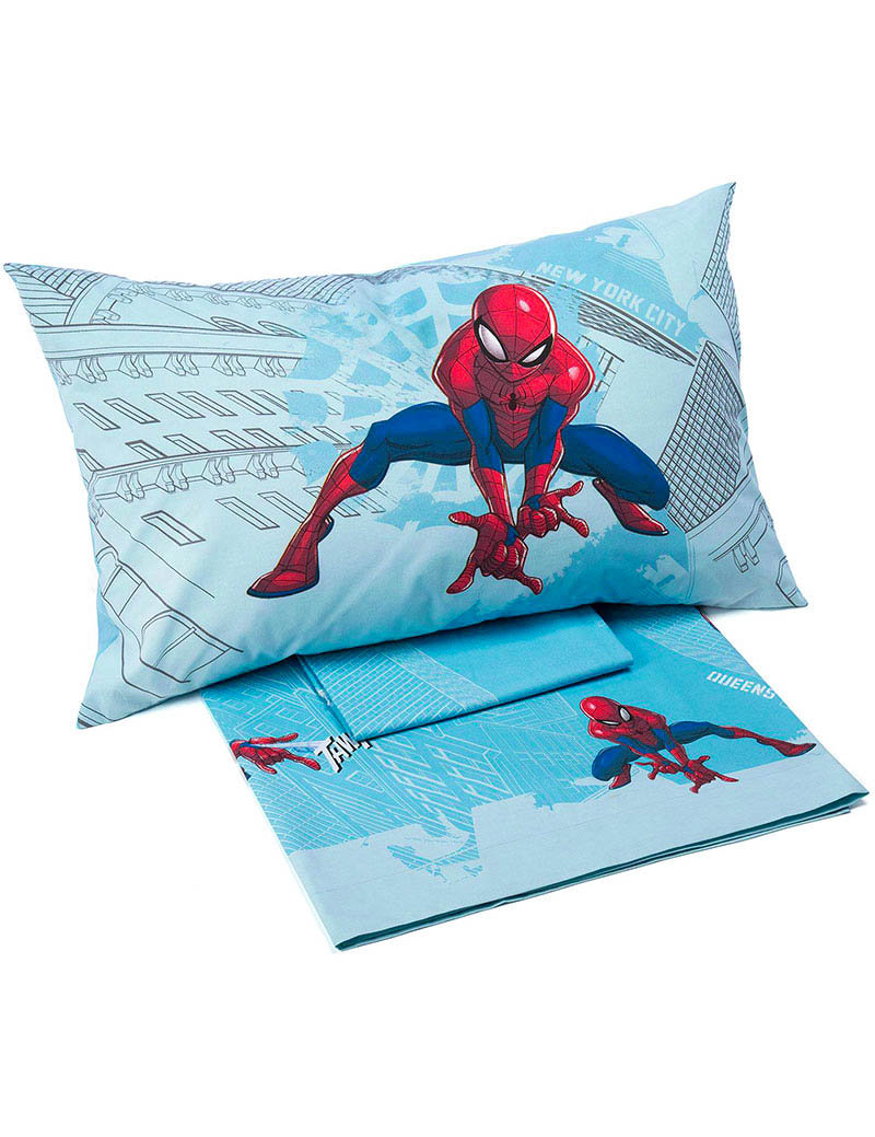 Lenzuola marvel letto singolo spiderman manhattan - Letto di spiderman ...