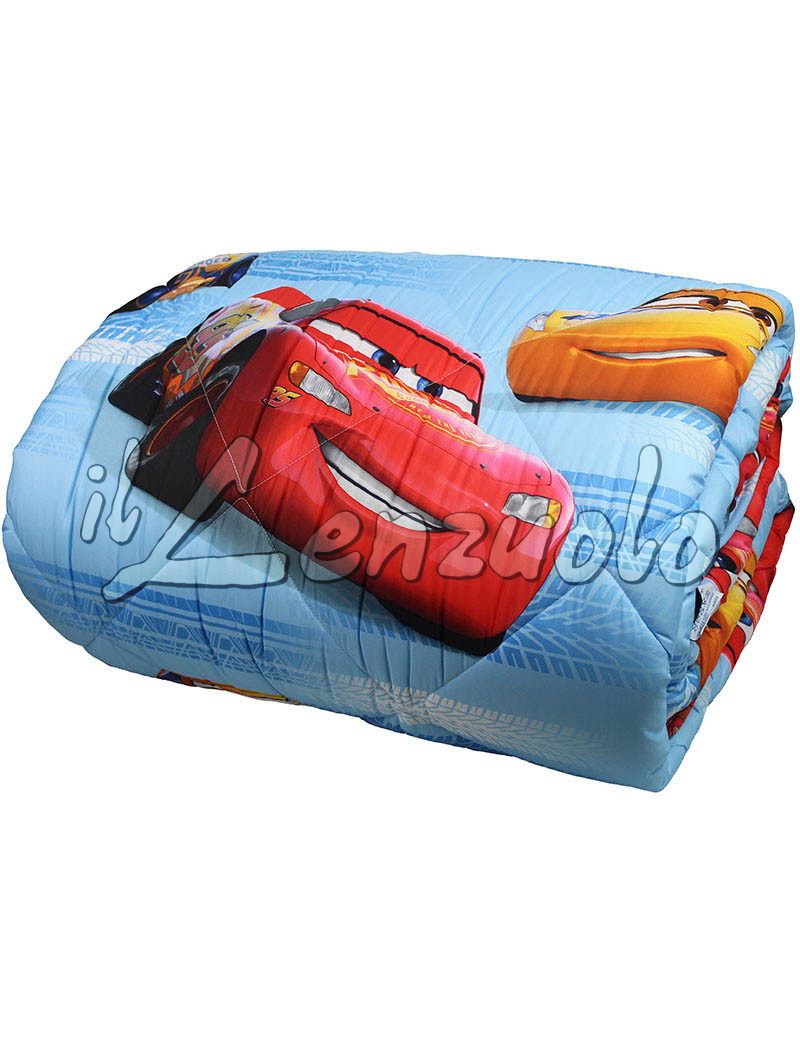 Trapunta disney letto singolo in microfibra cars turbo di caleffi - Letto cars disney ...