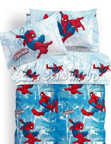 Lenzuola-letto-singolo-spiderman-graphic-caleffi-marvel