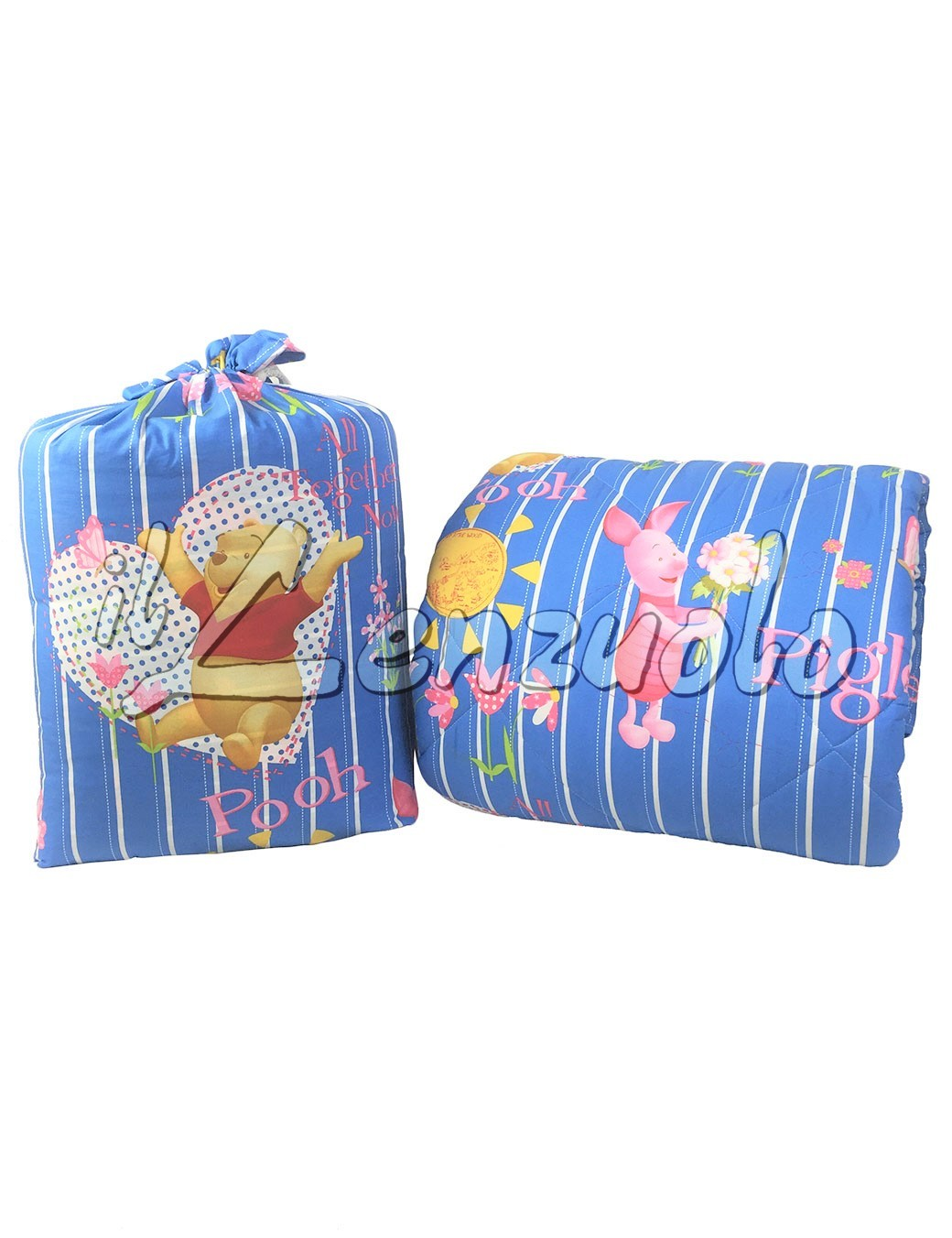 Trapunta Winnie The Pooh.Trapunta Disney In Cotone Letto Singolo Winnie The Pooh All Together