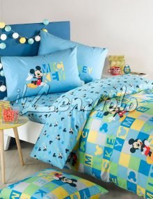 Copripiumino Disney double face letto singolo MICKEY RELAX