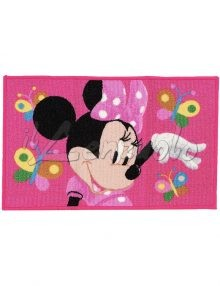 tappeto-cameretta-disney-minnie-butterfly