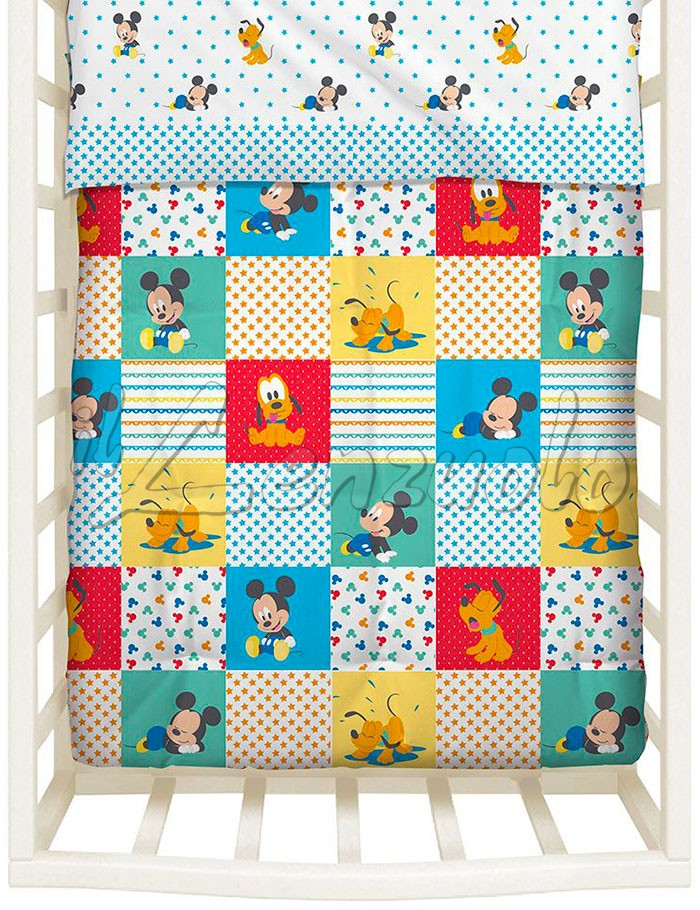 Trapunta Lettino Winnie The Pooh.Trapunta Disney Invernale Mickey Patch Per Lettino Baby By Caleffi