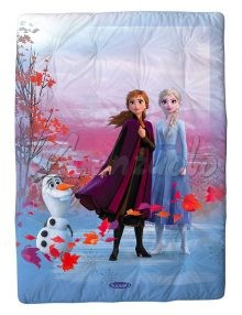 Scaldotto Caleffi - Plaid Coperta Disney FROZEN ELSA in cotone